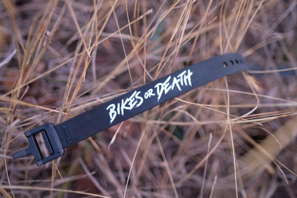 Bikes or Death Voile Straps