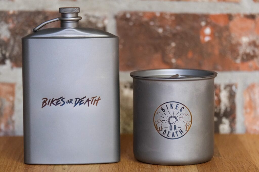 Ti Flask and Cup